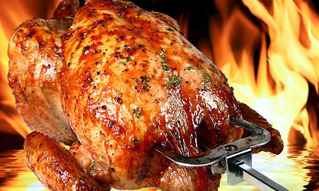 Afbeeldingsresultaat voor gegrilde kip spit